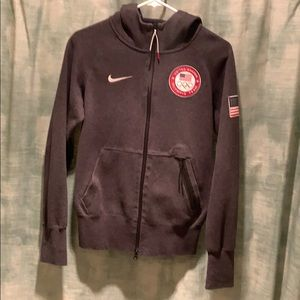 Nike USA Olympic 2012 Tech Hoody Jacket Fleece